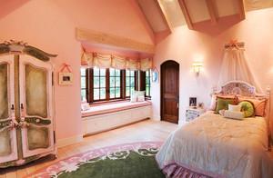 22平米欧式田园风格儿童房装修效果图赏析