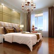 27平米欧式风格卧室背景墙装修设计效果图