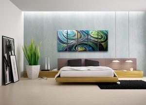 现代简约风格卧室背景墙装修效果图大全