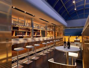 220平米后现代风格酒吧装修效果图