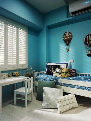 地中海风格三居室儿童房装修设计效果图