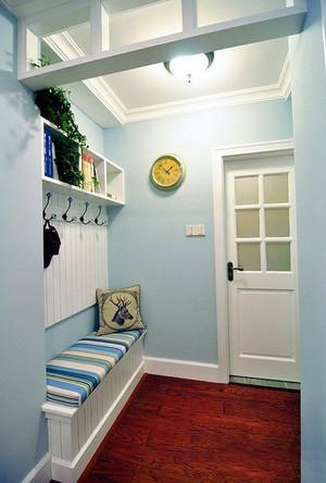 地中海风格小户型室内玄关设计效果图鉴赏