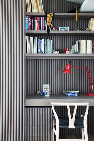10平米后现代风格小书房装修设计效果图