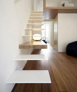 后现代风格跃层创意楼梯设计效果图鉴赏