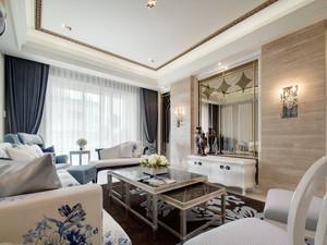精致低调简欧风格大户型室内装修效果图赏析