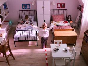 简欧风格两居室双胞胎儿童房装修效果图赏析
