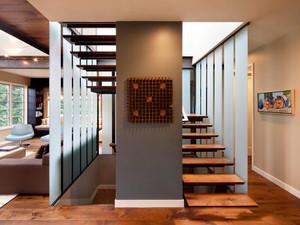 现代风格复式楼梯设计装修效果图鉴赏