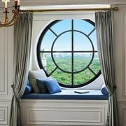 欧式风格大户型客厅飘窗设计效果图鉴赏