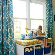 简欧风格三居室卧室飘窗设计效果图鉴赏