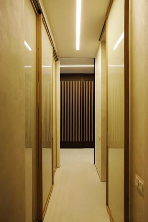 日式风格大户型客厅过道吊顶装修效果图赏析