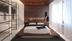 北欧风格一居室卧室背景墙设计效果图赏析