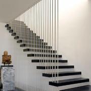 现代简约风格复式楼创意楼梯设计效果图