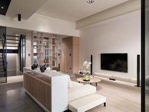 后现代风格别墅室内装修设计效果图鉴赏