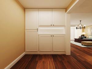 现代美式风格三室两厅室内装修效果图