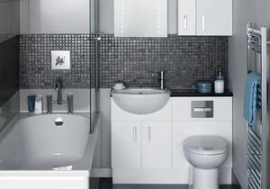 现代简约风格小户型卫生间装修效果图鉴赏