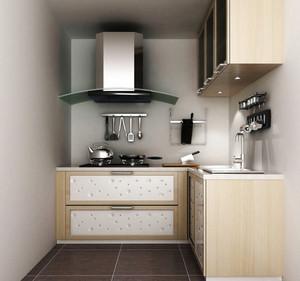 70平米现代简约风格小厨房装修设计效果图