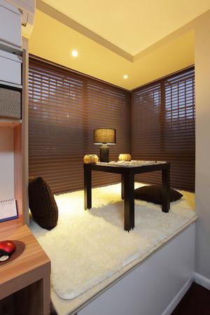 132平米中式风格榻榻米飘窗设计装修效果图