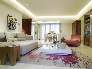 北欧风格两室两厅一卫室内装修效果图鉴赏