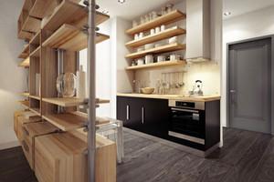 40平米精致后现代风格单身公寓装修效果图