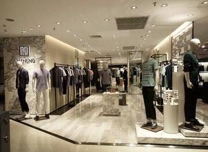 180平米现代风格服装店装修效果图鉴赏