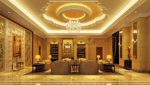 146平米欧式风格酒店套房装修效果图赏析