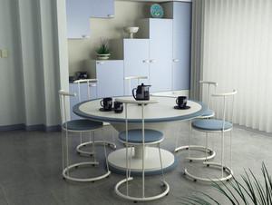 现代简约风格白色餐厅设计装修效果图大全