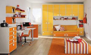 缤纷色彩创意简约风格儿童房装修效果图大全