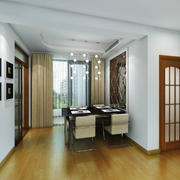 现代简约风格两居室室内餐厅设计效果图赏析
