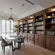 美式风格三居室书房装修设计效果图鉴赏