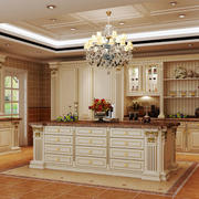 欧式风格别墅室内整体厨房设计效果图赏析