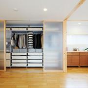 78平米日式风格小衣帽间设计效果图鉴赏