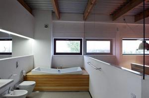 现代简约风格大户型室内卫生间装修大全