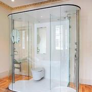 现代简约风格三居室卫生间淋浴房设计效果图