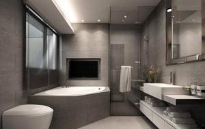 后现代风格冷色调卫生间装修效果图鉴赏