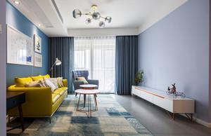 120平米现代北欧风格室内装修效果图赏析