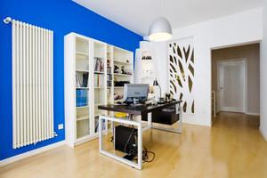 10平米地中海风格小书房设计装修效果图