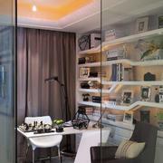 8平米现代简约风格小书房装修设计效果图
