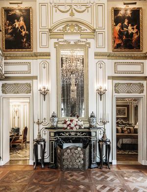 300平米新古典主义风格别墅室内装修效果图