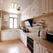 大户型唯美简欧厨房装修效果图实例