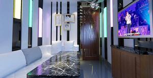 30平米现代简约风格KTV包房设计装修效果图赏析