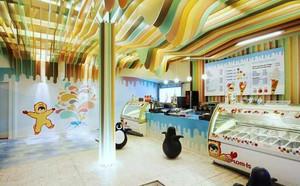 55平米现代简约风格商铺食品店装修效果图赏析