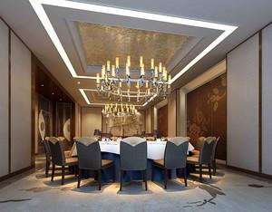 72平米现代中式风格酒店包厢装修效果图赏析