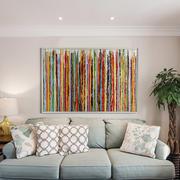 北欧风格小户型客厅沙发背景墙设计效果图