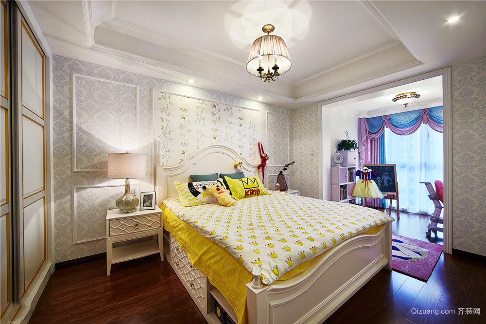简欧风格大户型室内儿童房卧室装修效果图