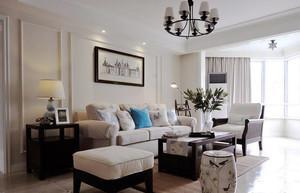 简欧风格小户型客厅沙发装修效果图赏析