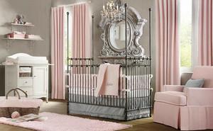 简欧风格大户型精致婴儿房设计装修效果图