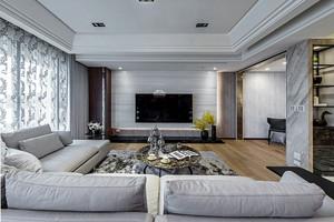 现代简约风格大户型室内整体装修效果图鉴赏