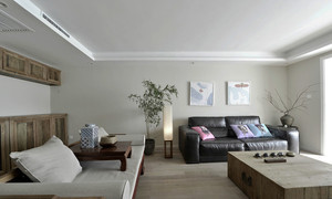 现代风格小户型客厅榻榻米设计装修效果图鉴赏