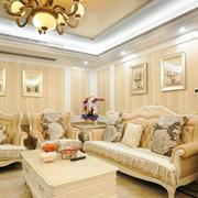欧式风格小户型客厅沙发装修效果图赏析
