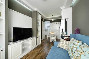 123平米欧式风格两室两厅室内装修效果图赏析